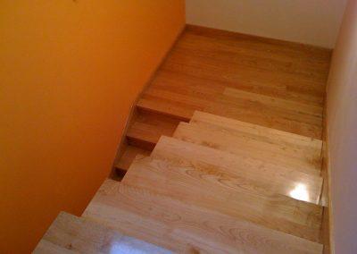 Pulido Escaleras de Madera